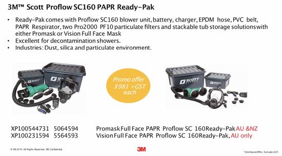 Proflow SC 160 Ready-Pak End